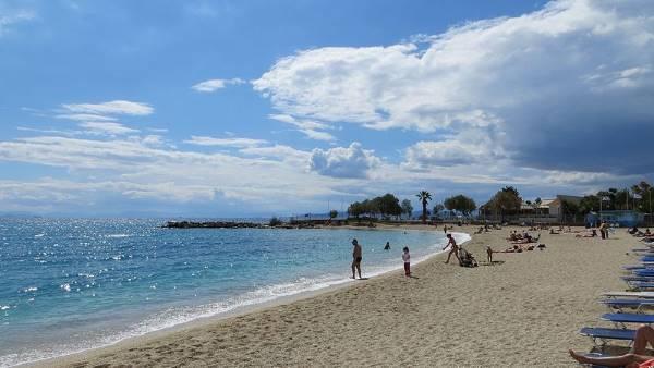 Playa Alimos en Atenas